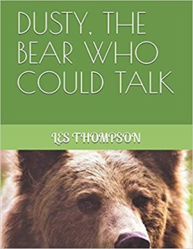 Dustry The Bear Who Could Talk paperback cover